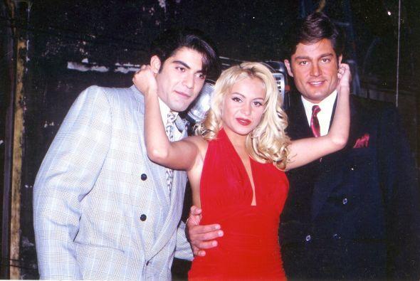 """En 1994 actuó en la película """"Bésame en la boca""""  junto a Paul..."""