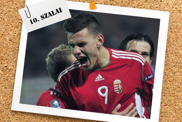 Adam Szalai mató con un 'hat-trick' a la débil escuadra de San Marino. B...