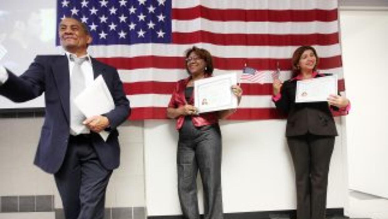 Cada año miles de personas se convierten en ciudadanos estadounidenses.
