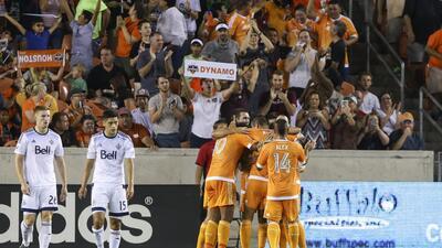 Houston Dynamo, celebración de gol