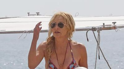 A los 58 Sharon Stone se ve espectacular en bikini