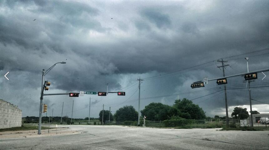 La audiencia compartió fotos del centro de Texas tras el paso de Bill.