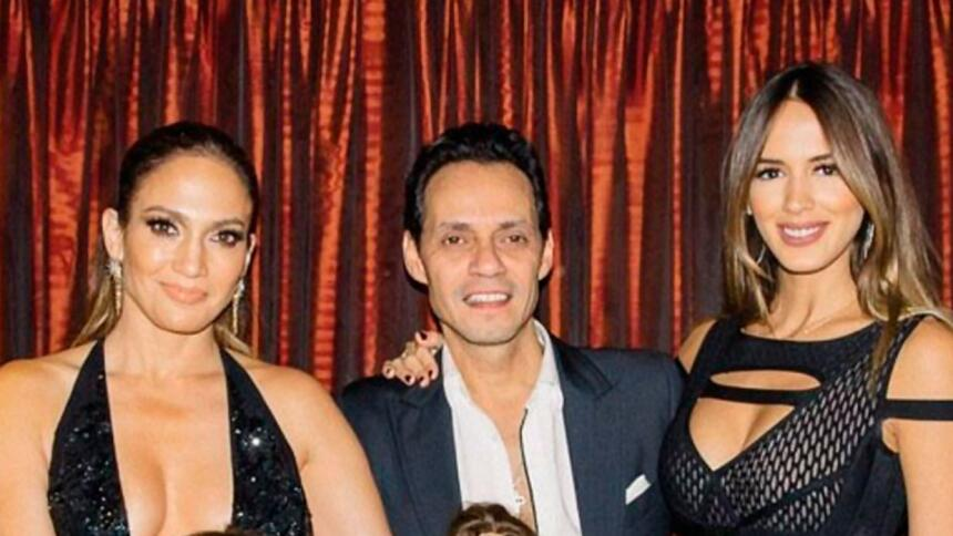 JLo, Marc and Shannon