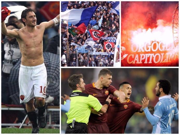 Roma vs. Lazio, uno de los clásicos más explosivos del mundo untitled-co...