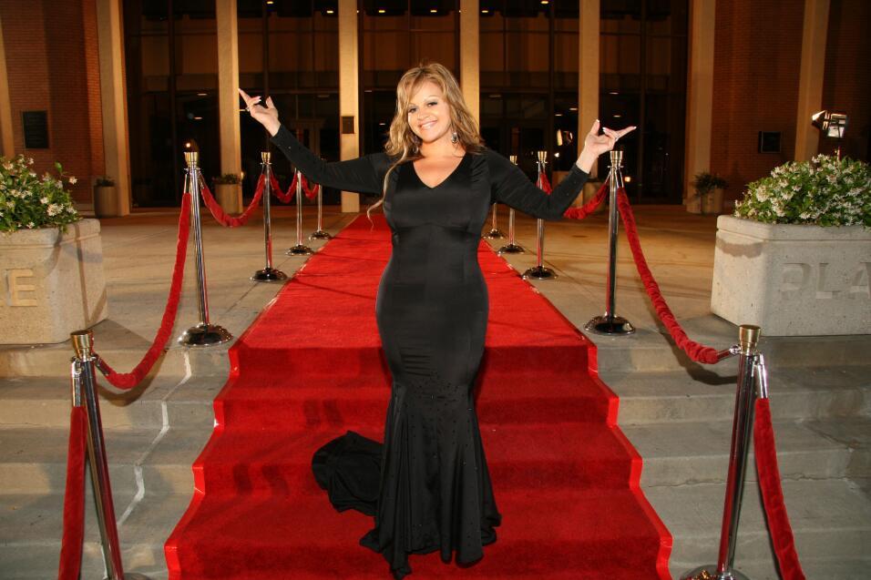 Jenni Rivera en alfombra roja