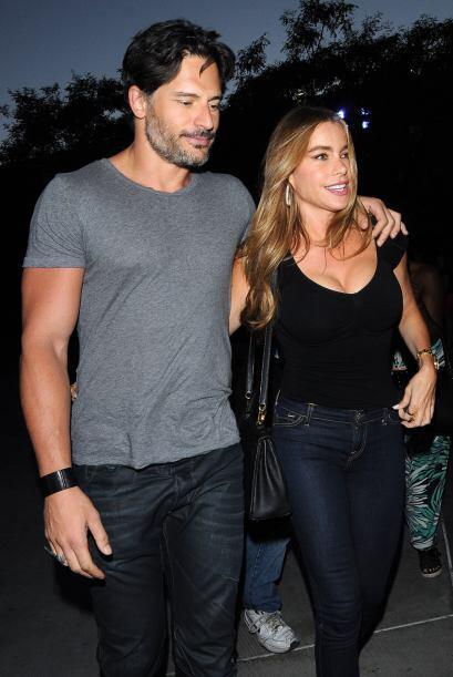 Sofia Vergara y Joe Manganiello siguen presumiendo lo bien que van como...