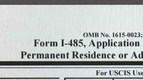 Cambios en el formulario I-485 para solicitar la residencia permanente