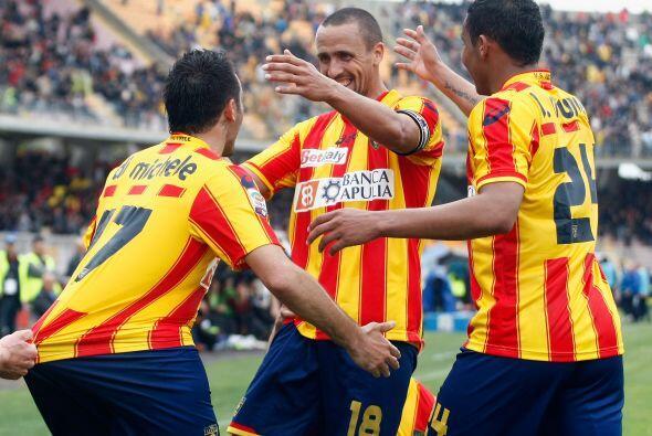 Lecces sorprendió a la Roma y lo derrotó 4 a 2.