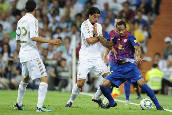 El juego arrancó con un Barcelona irreconocible y un cuadro 'merengue' p...
