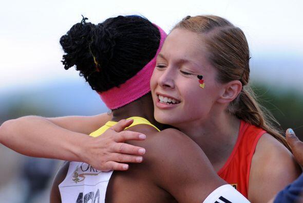 La ecuatoriana Angela Tenorio obtuvo el miércoles la medalla de plata en...