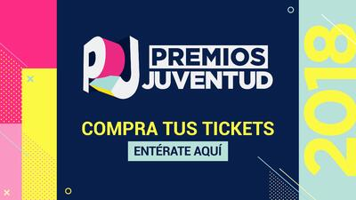No te lo pierdas, compra tus boletos de Premios Juventud aquí