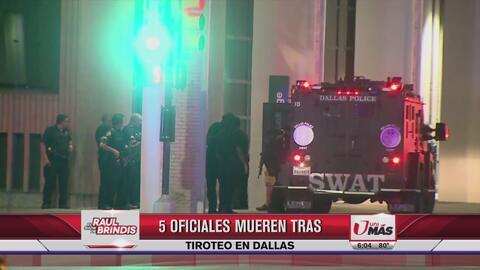 Raul Brindis se solidariza tras balacera en Dallas