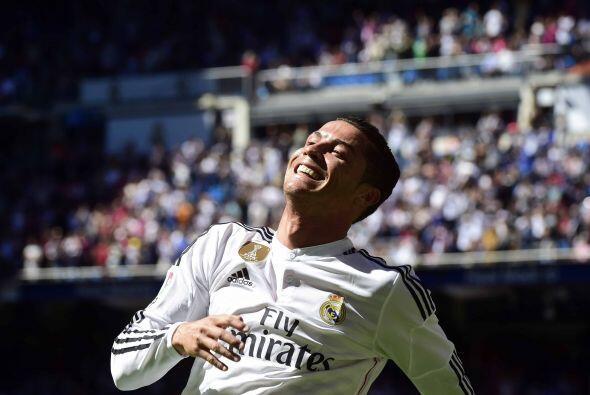 La sonrisa del portugués duraría cada minuto del partido, más aún desde...
