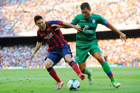 En la segunda parte se bajó el ritmo, principalmente por un Barcelona qu...