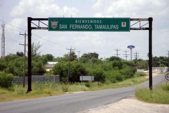 El rancho de San Fernando es la misma municipalidad cercana a la fronter...