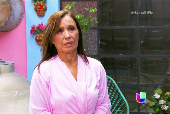 Doña Lupita tiene razón, aunque don Paco se enoje, Aracely tiene que con...