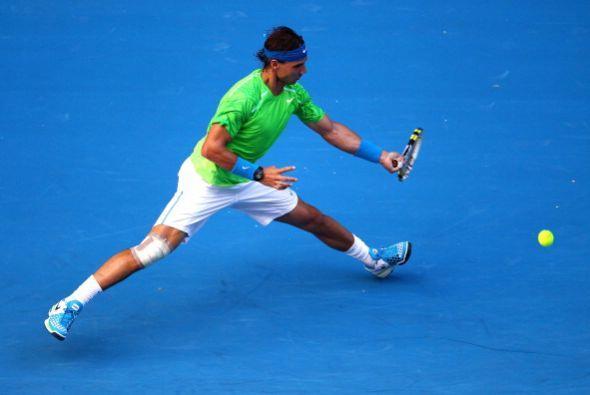 Rafael Nadal tuvo un buen comienzo en el Abierto de Australia y ratificó...