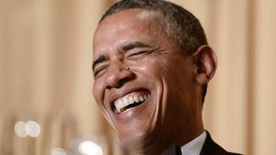 Las mejores bromas de Obama en la cena de corresponsales