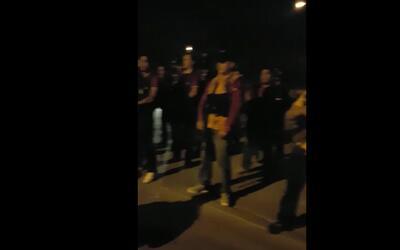 En video: Supuestos narcos rezan antes de un enfrentamiento