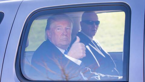 Donald Trump en Wisconsin el 5 de abril 2016