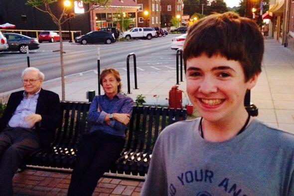 Tom White, de Nebraska, se hizo famoso por tomarse una selfie en la que...