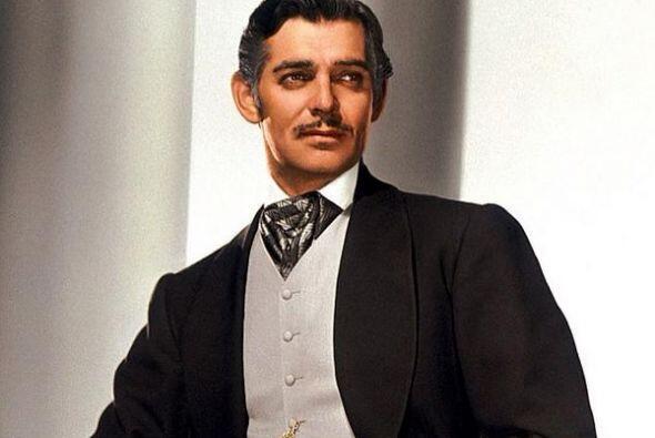 Quizás su personaje más famoso fue el de Rhett Butler en la icónica cint...