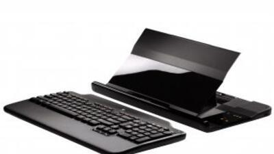 El Logitech Alto Cordless Notebook Stand cambia la posición de tu Laptop...
