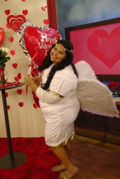 Estamos en vísperas de San Valentín y la 'angelita' de Despierta América...