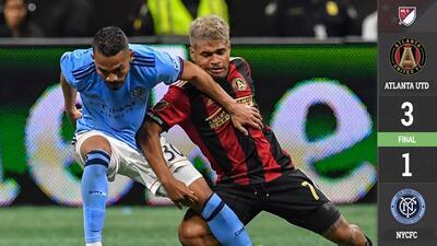 Goles de Josef Martínez y Miguel Almirón dejan a Atlanta United en la Final de Conferencia del Este