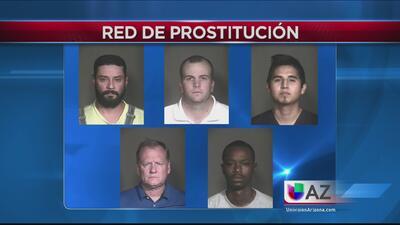 Arrestados por pagar para tener sexo con una menor