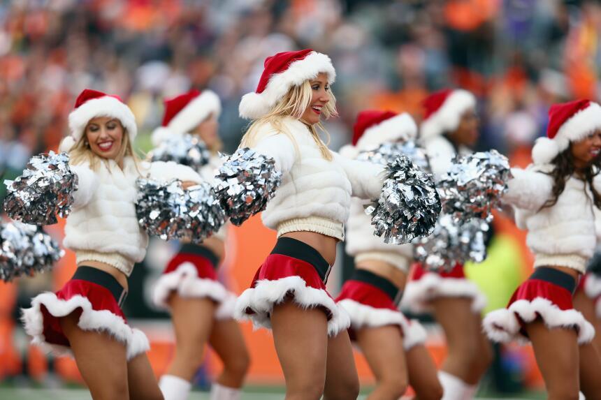 Nada más hermoso que las muñequitas del emparrillado, ¿deseos de Navidad?
