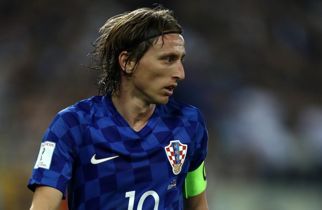 Grupo D. Luka Modric (Croacia) - parece que la maldición del '10&#39...