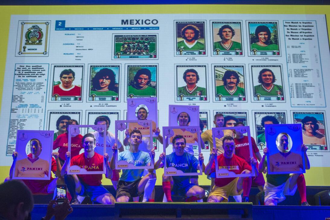Fiebre del álbum del Mundial: así fue el lanzamiento del Panini en Méxic...