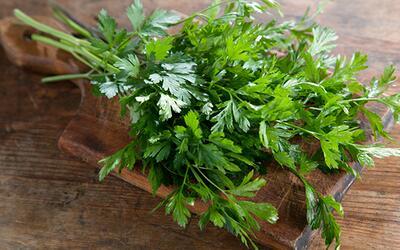El perejil, la hierba aromática que mejora la salud