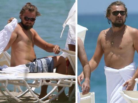 El cuerpo torneado que presumía Leo ha quedado atrás. El a...