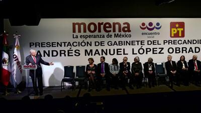 Este sería el gabinete de Andrés Manuel López Obrador si ganara las pres...