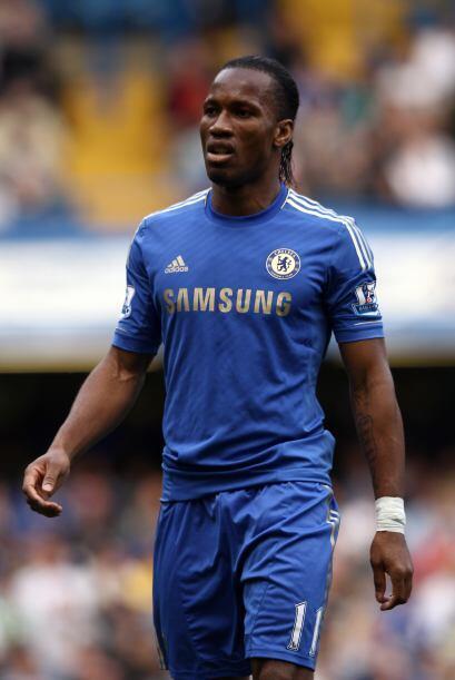 Y si no pasa nada extraño, el '9' de Chelsea será el marfileño Didier Dr...
