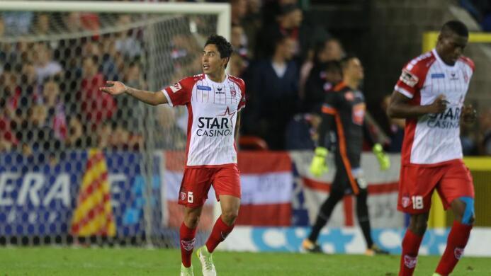 Mouscron [1]-2 Anderlecht: el joven Omar Govea marcó el único gol del Ro...