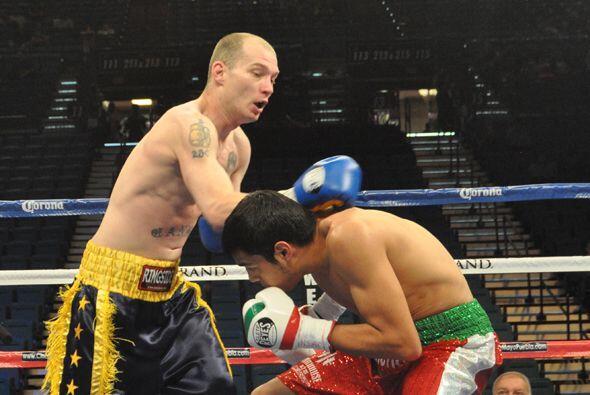 Cannon no pudo con el mejor boxeo de Figueroa.