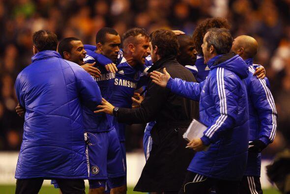 El brasileño Ramires puso el 1-0 para el Chelsea.