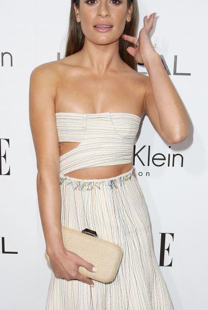 Recientemente fue captada en la alfombra roja de 'Elle', donde impactó c...
