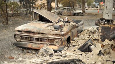 El fuego no cesa en California