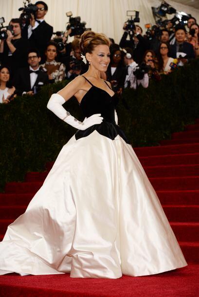 Sarah Jessica Parker lució como una princesa en un vestido de Oscar de l...