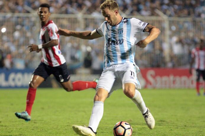 Aunque se habló mucho de Zampedri, de Atlético Tucumán, el jugador del e...
