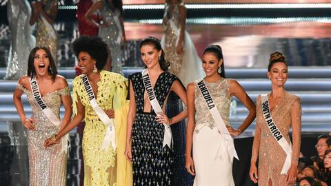 Miss Universo 2017 5 finalistas