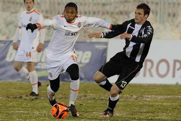 El Shakhtar Donetsk perdió contra el colista Partizan, pero igual avanzó.