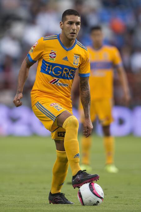 Ismael Sosa (Tigres / Argentina) - 13 partidos jugados, 3 como titular.
