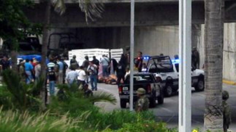 Según un medio local, varias de las víctimas de la masacre en Veracruz n...