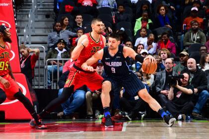 Nikola Vucevic, del equipo de Florida, fue el mejor en la noche que se vivió en el State Farm Arena de Atlanta. El suizo puso 19 puntos, 12 rebotes y tres asistencias.