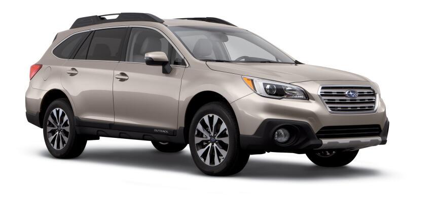 Subaru Outback 2016.  La compañía no ha recibido ningún reporte de accid...